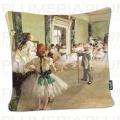 Povlak na polštář The Ballet Class Edgar Degas