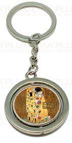 Plumeria Přívěsek na klíče The Kiss Gustav Klimt