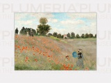 Reprodukce obrazu Poppies near Argenteuil Claude Monet