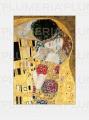 Reprodukce obrazu The Kiss Gustav Klimt