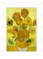 Reprodukce obrazu The Sunflowers Vincent van Gogh