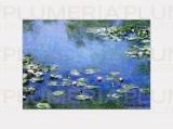 Reprodukce obrazu Waterlilies - Lekníny Claude Monet