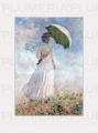 Reprodukce obrazu Women with Parasol Claude Monet