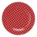 Porcelánový dezertní talíř Spot Red