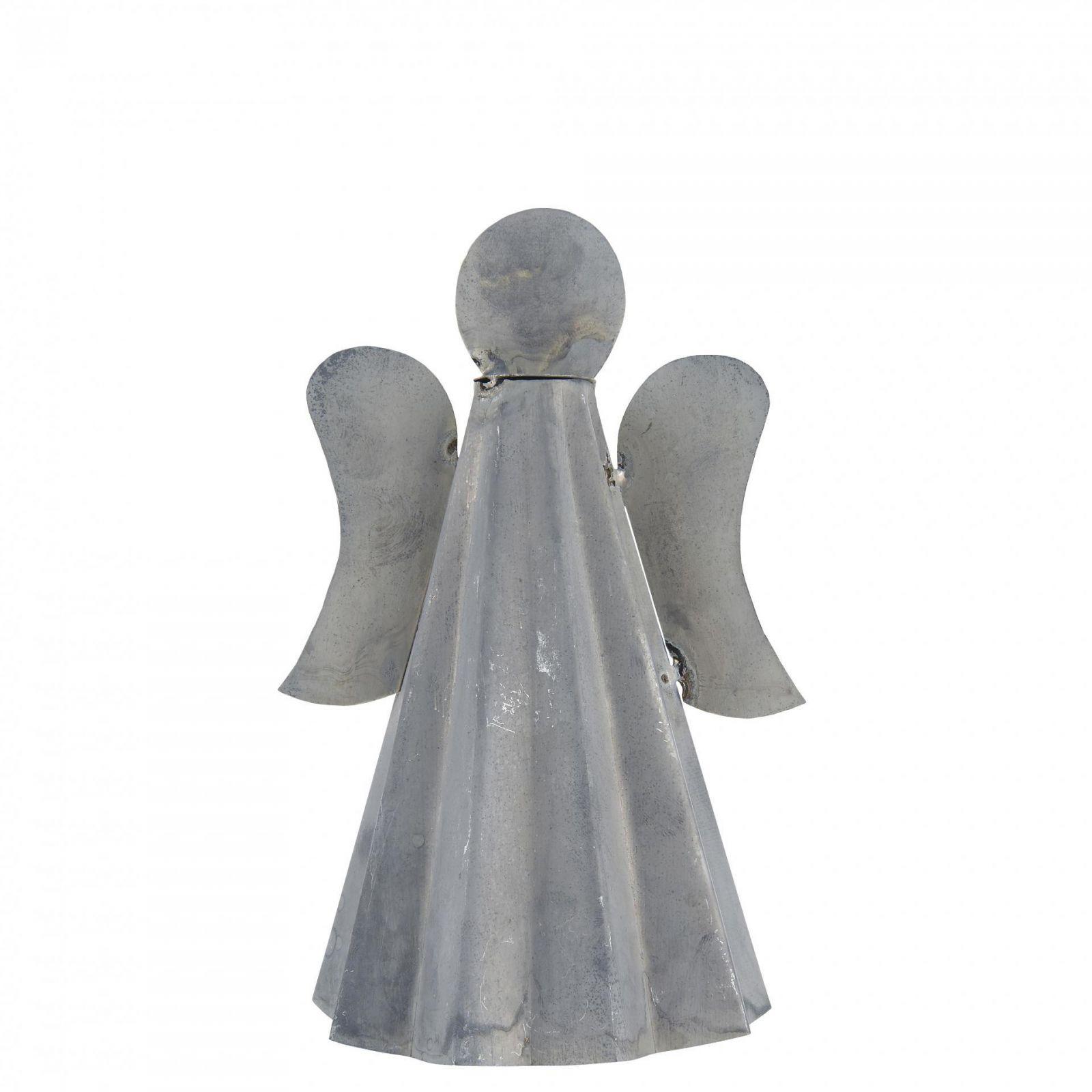 IB Laursen Dekorativní kovový andílek Zinc