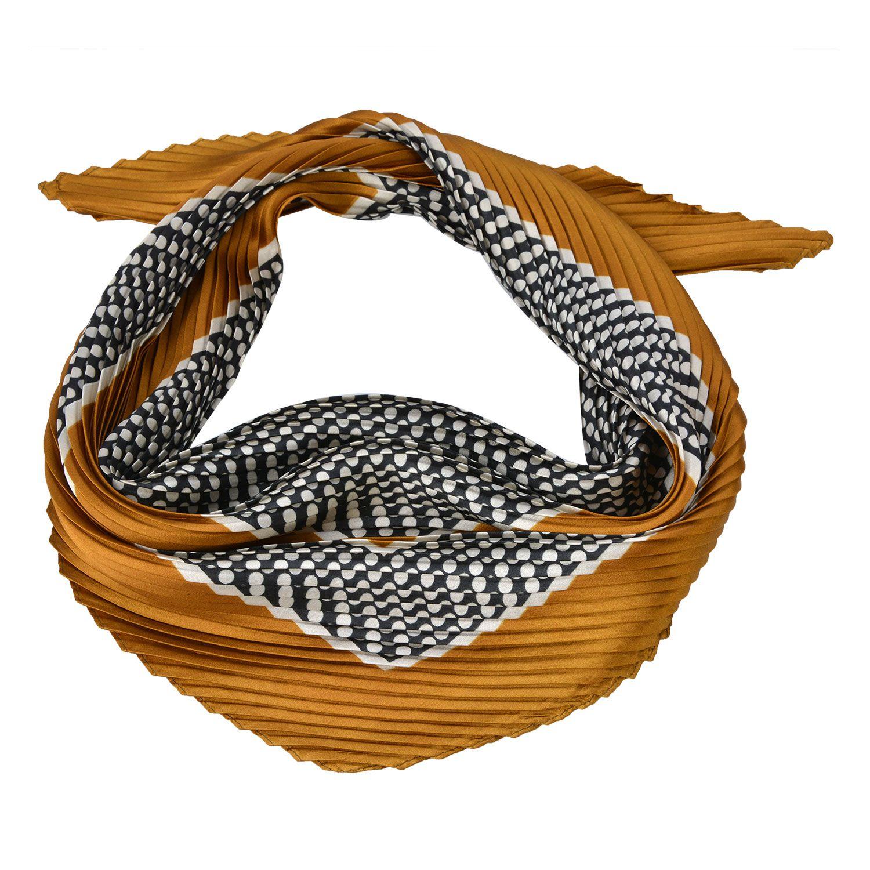 Me Lady Plisovaný šátek Brigitte 70 x 70 cm Clayre & Eef