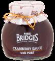 Zavařenina Brusinky s portským vínem, Cranberry Sauce with Port