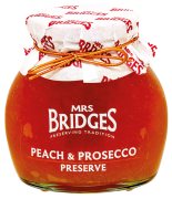 Mrs. Bridges Zavařenina Broskev a Prosecco, Peach & Prosecco preserve, 340g