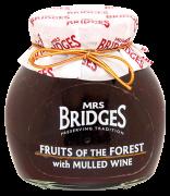 Mrs. Bridges Zavařenina Červené plody a svařené víno,Forest Fruit & Mulled Wine 340g