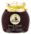 Zavařenina směs Jahoda, malina, černý a červený rybíz, Four Berry Extra Jam, 340g