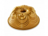 Nordic Ware forma na bábovku Chiffon střbrná - zlatá