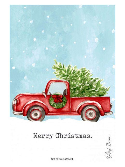 Willowbrook MERRY CHRISTMAS vonný sáček do šatníku