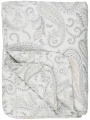 Prošívná deka Beige Paisley 130 x 180 cm
