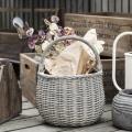 Proutěný košík s uchem Grey Willow