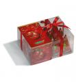 Kolekce černých čajů Vánoční koule