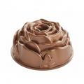 Bábovková pečicí forma - Růže, měděná