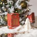 Vánoční závěsné mýdlo červené - Stromeček, 80g