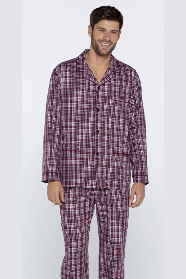 Guasch Luxusní pánské bavlněné pyžamo ROLANDO