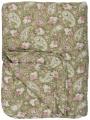 Prošívaný přehoz Green Rose Paisley 130x180