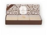 Dárková sada Luxusních mýdel - Mandle, 3x120g