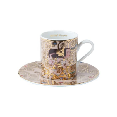 Goebel Šálek a podšálek espresso 6 cm / 0,1 l, Polibek, G. Klimt