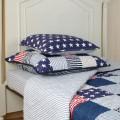 Přehoz přes postel patchwork blue 180x260 cm