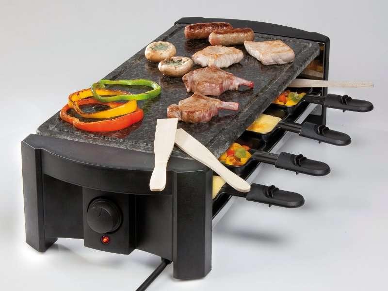 Domo Raclette gril z přírodního kamene - DO 9039 G