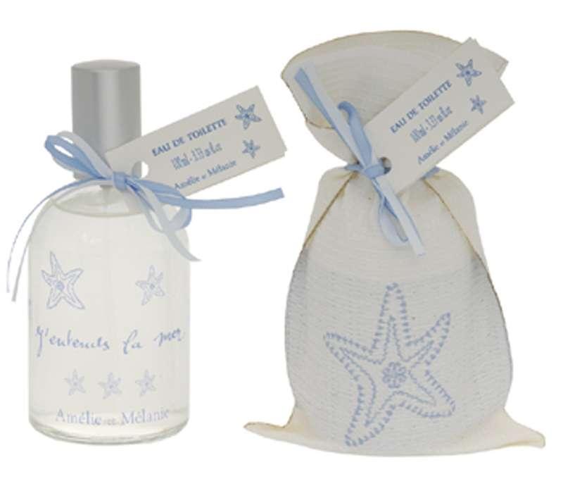 Amélie et Mélanie - J´entends la mer - Toaletní voda z Provence Lothantique