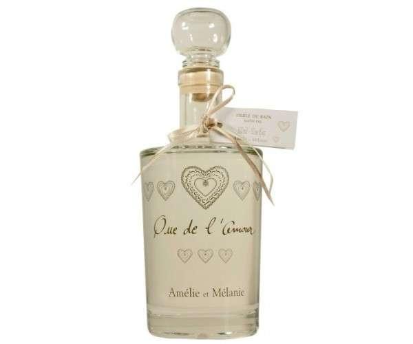 Amélie et Mélanie - Que de ľ Amour - Olej do koupele z Provence Lothantique
