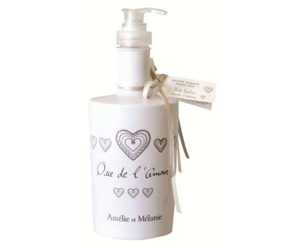 Amélie et Mélanie - Que de ľ Amour -Tekuté mýdlo s pumpičkou Lothantique