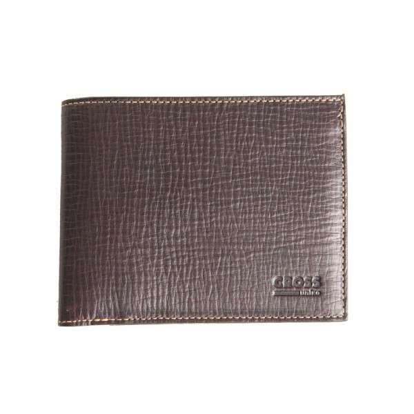 CROSS Pánská kožená peněženka Korunovka s klopnou - 216708 Uniko