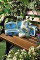 Koupelový a sprchový gel s vůní bílých květů a zelených lístků 250 ml Derbe