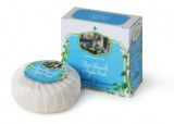 Mýdlo s vůní bílých květů a zelených lístků 100 g