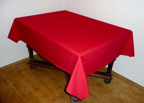 Ubrus červený 100% bavlna