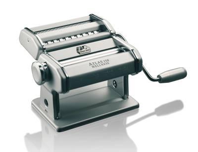 Atlas 150 Wellness strojek na těstoviny, Marcato Stříbrná