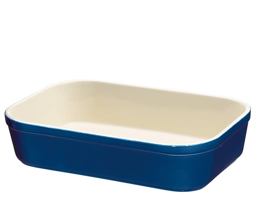 Zápékací miska hranatá Modrá