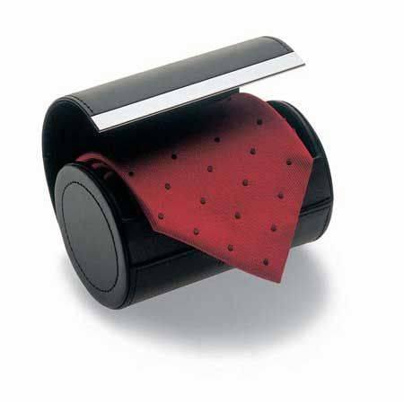 Philippi Box na kravaty Giorgio nerez/kůže