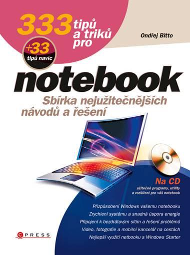 333 tipů a triků pro notebook Computer Press