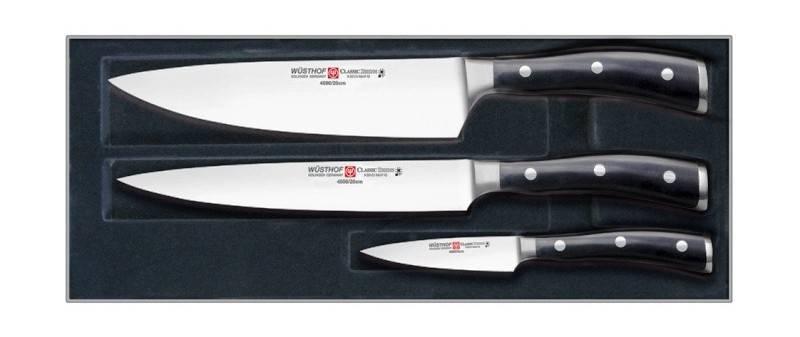 WÜSTHOF Classic Ikon - sada 3 kovaných nožů Wüsthof