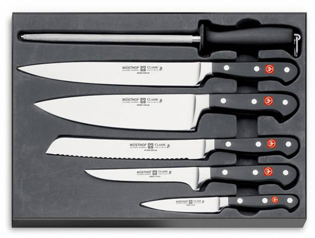 Nože WÜSTHOF Classic - sada 6 ks kovaných nožů Wüsthof
