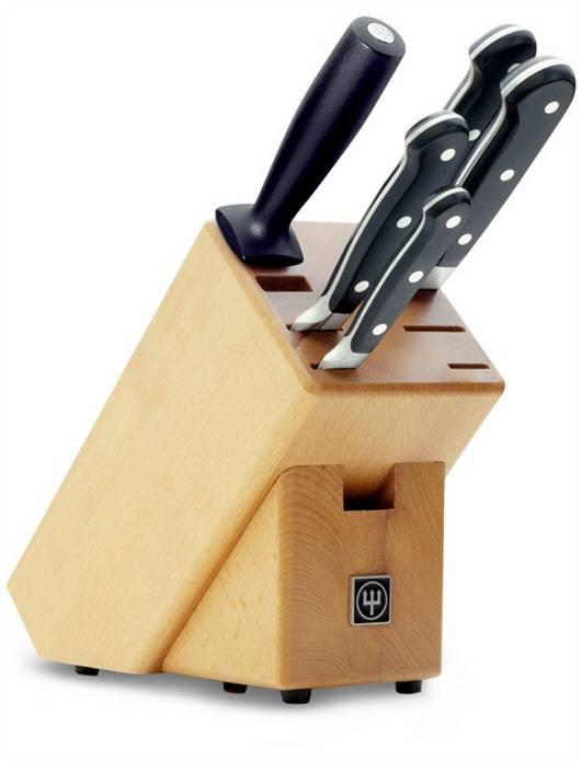 Nože WÜSTHOF Dreizack Solingen Classic - blok s noži 5 ks Wüsthof