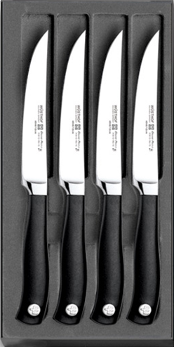 Nože WÜSTHOF Grand Prix II - sada 4 steakových nožů