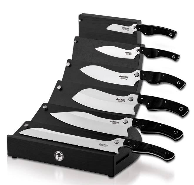 Sada kuchyňských nožů - Böker Gorm