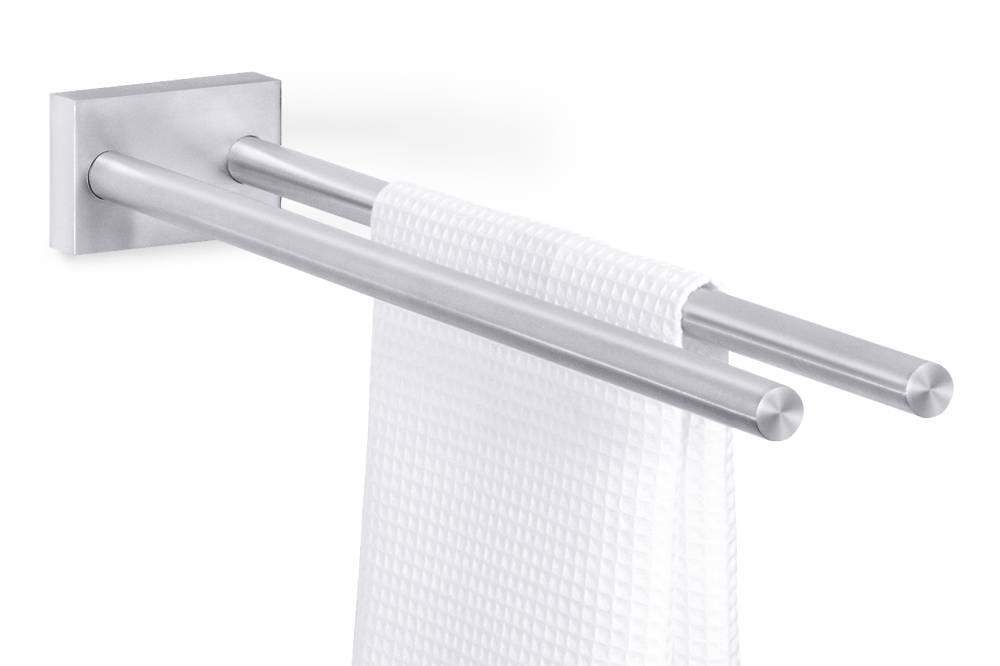 Zack Držák na ručníky, nástěnný, dvojramenný - FRESCO